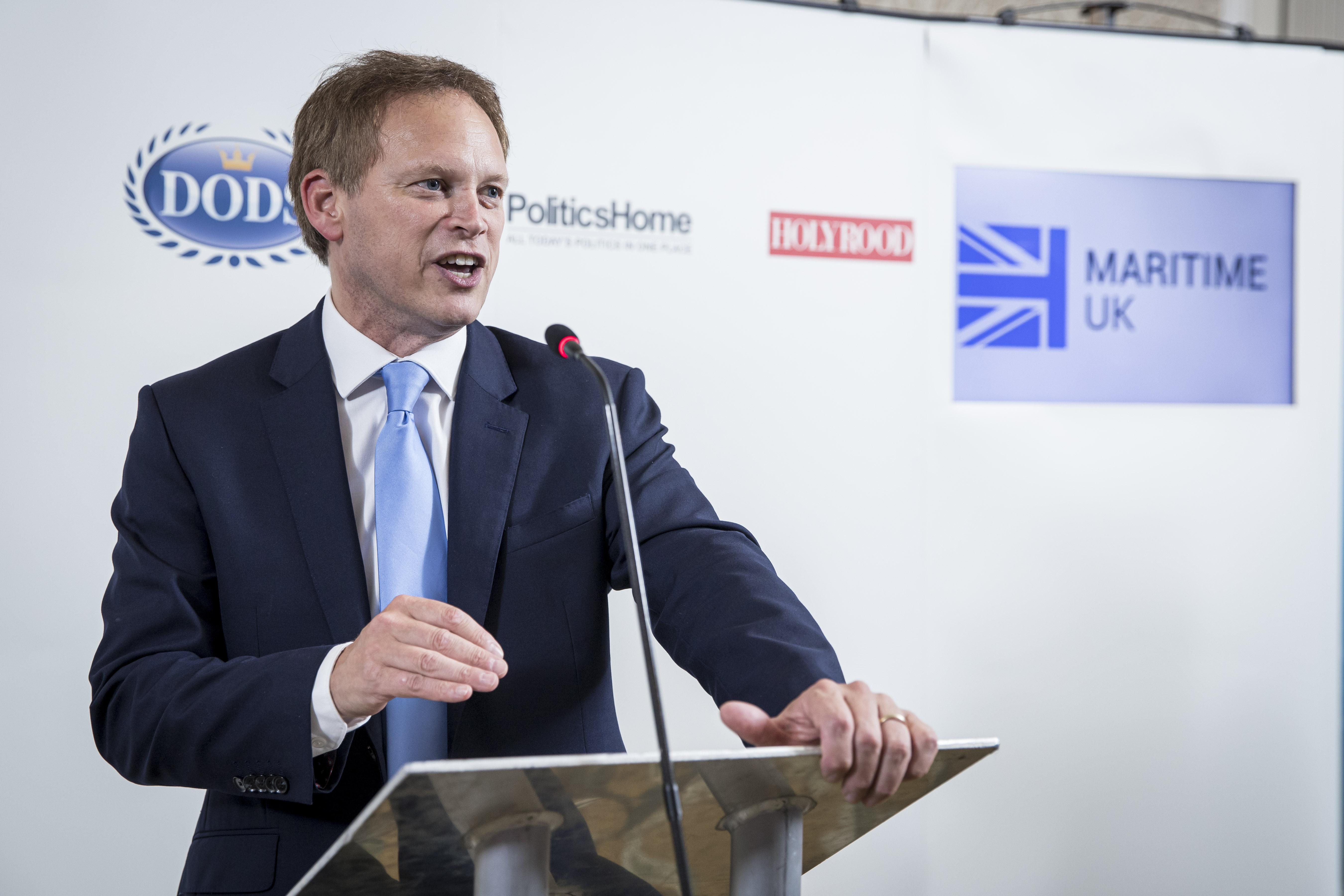 Rt Hon Grant Shapps MP speaking at The Maritime UK Reception