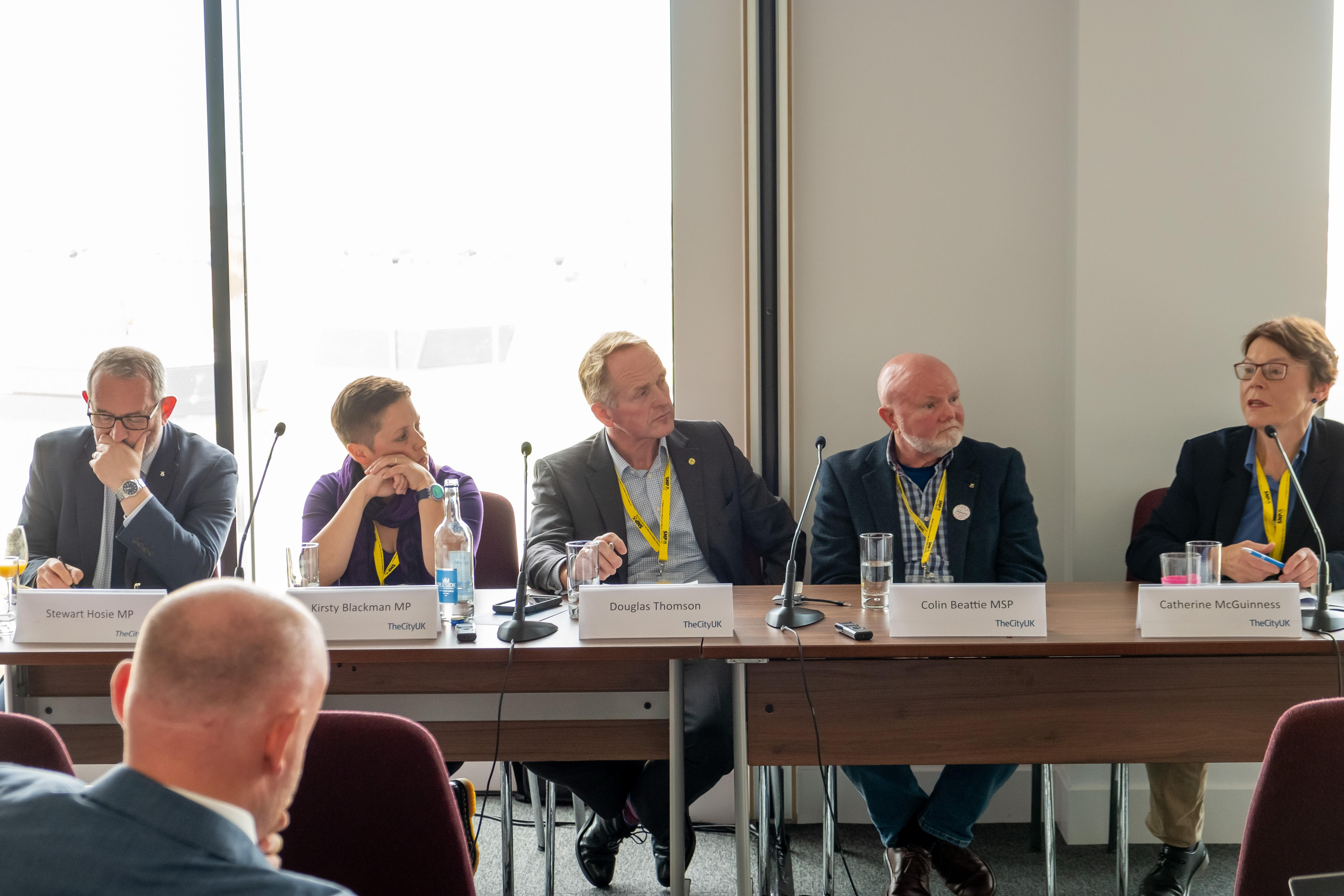 TheCityUK SNP Fringe discussing Innovating for the Future